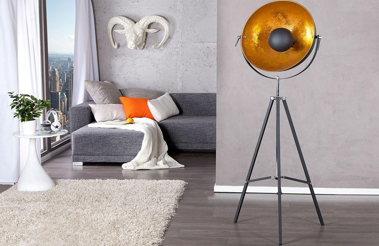 luminaires vente en ligne lampadaire design session m. Black Bedroom Furniture Sets. Home Design Ideas