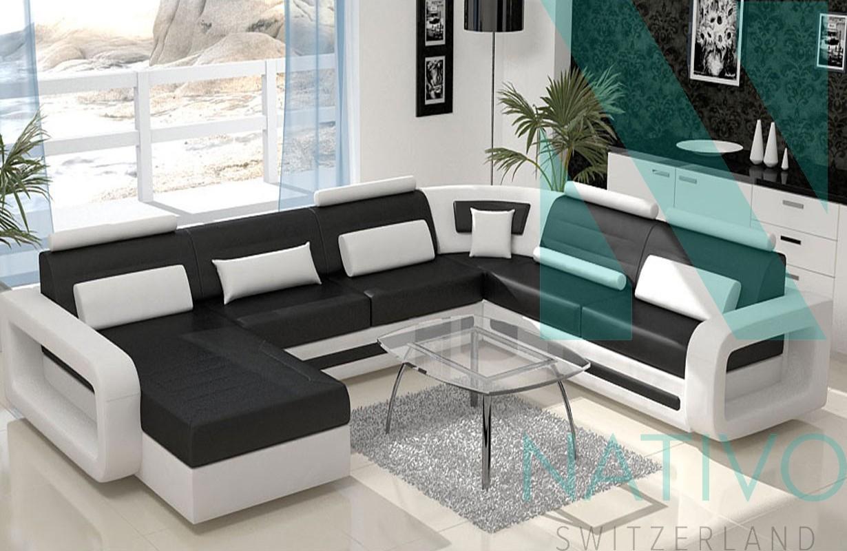 NATIVO mobilier design - Canapé design DAVOS XXL