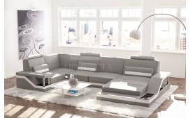 Designer Sofa ANGEL mit Ablagen in Hochglanz