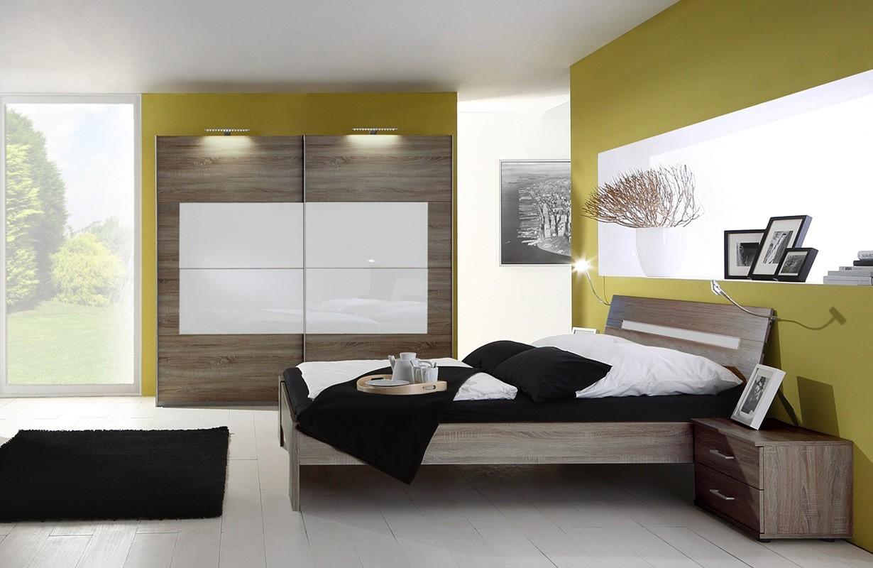 Camera da letto Lugano SANY WHITE NATIVO arredamento moderno
