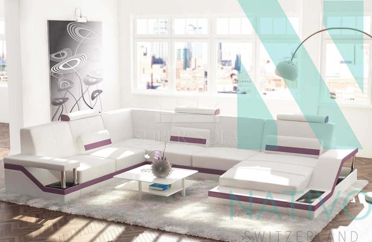 Canap design angel xxl nativo magasin de meubles for Canape xxl angle