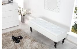 Designer Polsterbank FORD WHITE