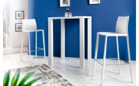 Designer Barhocker SLIM WHITE