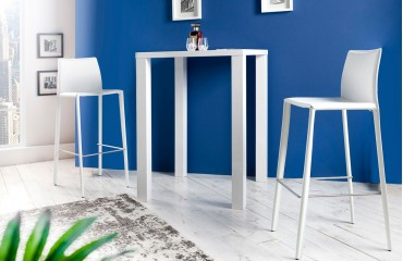 Sgabelli bar offerta SLIM WHITE arredamento moderno NATIVO