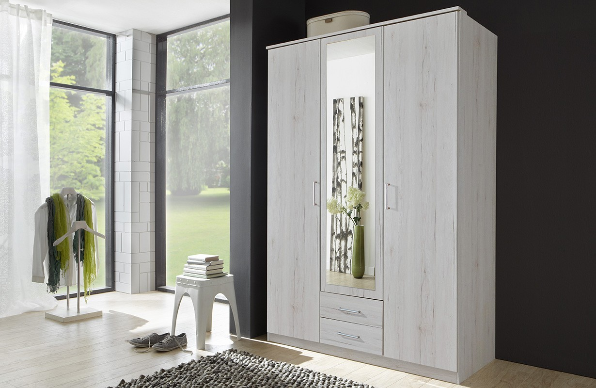 kleiderschrank mit dreht ren kyoto v1 von nativo m bel schweiz. Black Bedroom Furniture Sets. Home Design Ideas