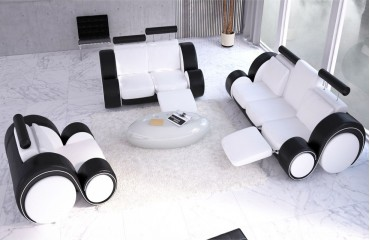 Sofa Garnitur BARACUDA 3+2+1 mit Relax-Funktion