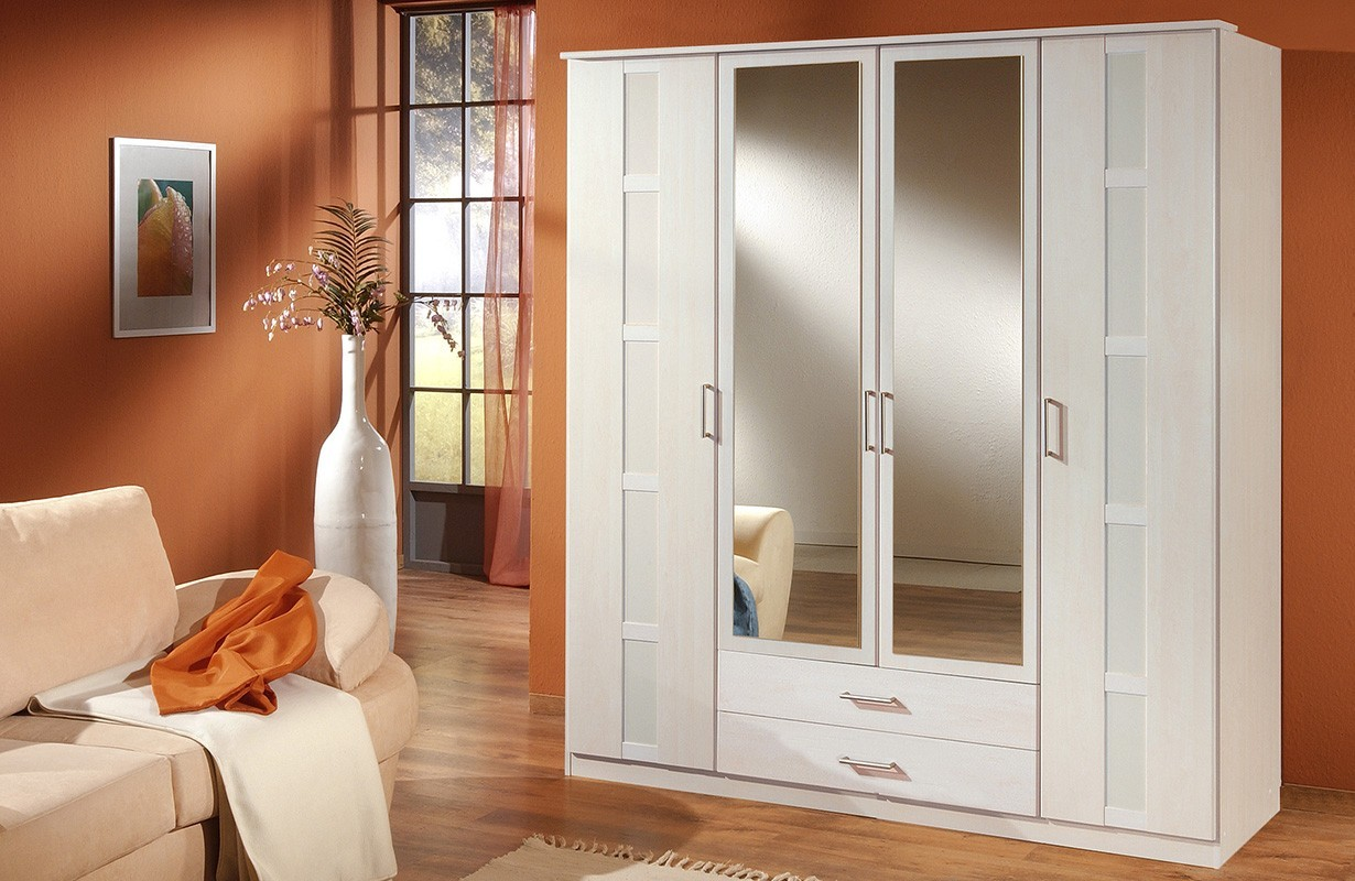 kleiderschrank mit dreht ren solis v2 von nativo m bel schweiz. Black Bedroom Furniture Sets. Home Design Ideas