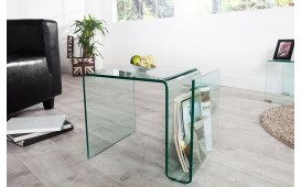 Table basse Design CLEAR 50 cm