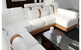 Designer Sofa ATLAS mit Hocker