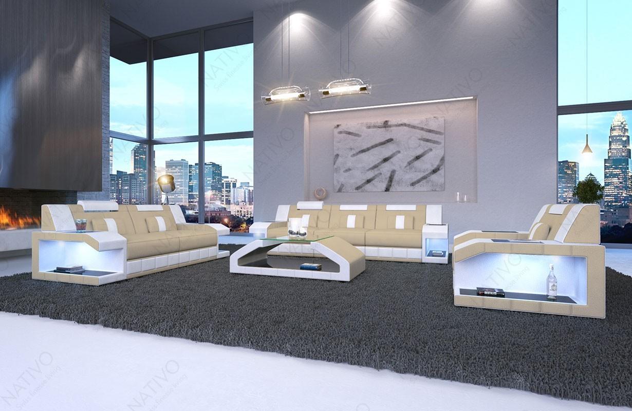 ledersofa matis 3 2 1 bei nativo m bel z rich g nstig kaufen. Black Bedroom Furniture Sets. Home Design Ideas
