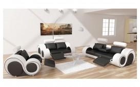 Designer Sofa BARCA 3+2+1 inkl. Relax-Funktion