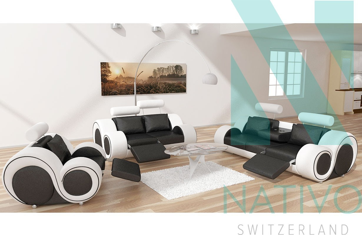 Designersofa BARCA 3+2+1bei NATIVO Möbel Schweiz günstig kaufen