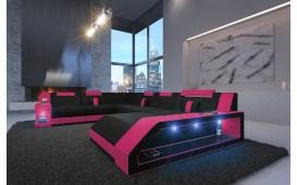 Designer Sofa MATIS XXL mit LED Beleuchtung