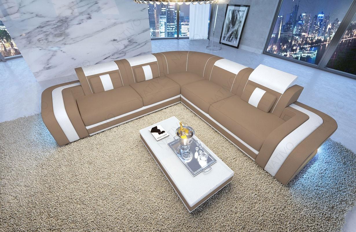 ledersofa space corner nativo designer m bel schweiz. Black Bedroom Furniture Sets. Home Design Ideas