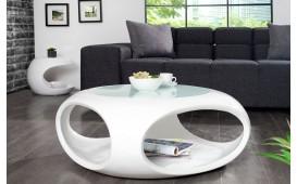 Table basse Design SILOUETHE WHITE