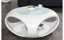 Table basse Design SILOUETHE WHITE