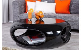 Table basse Design SILOUETHE BLACK