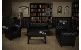 Sofa Garnitur CHESTERFIELD 3+2+1