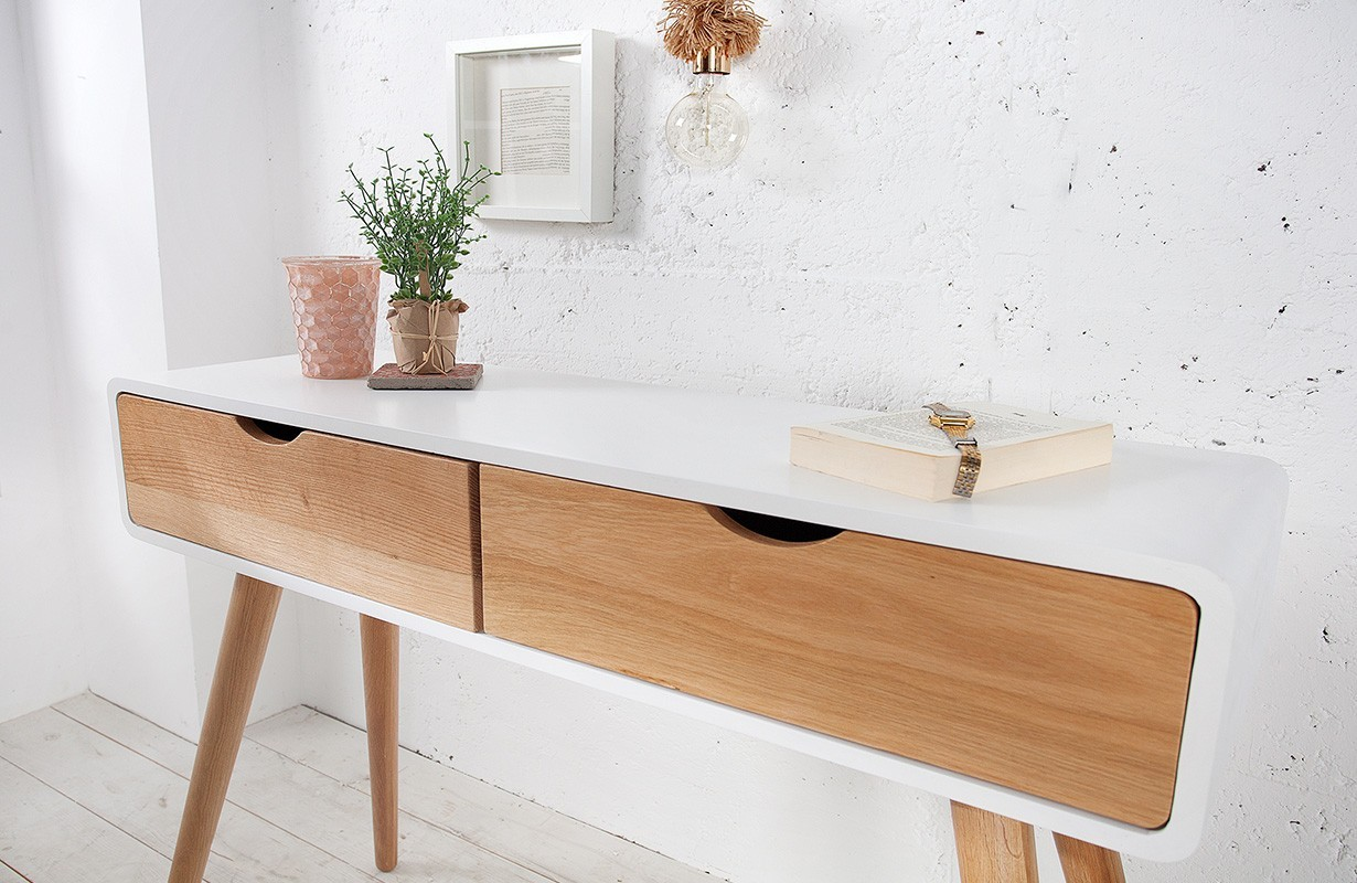 Consolle con cassetti man nativo showroom zurigo for Consolle design outlet