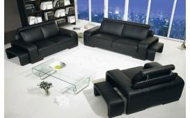 Designer Sofa NIZZA 3+2+1 mit 2 x Hocker