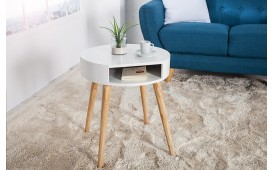 Table d'appoint Design MAN ROUND