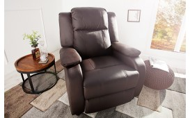 Fauteuil Relax AMERICANA BROWN