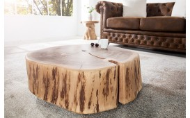 Table basse Design DOA ROND 60 cm