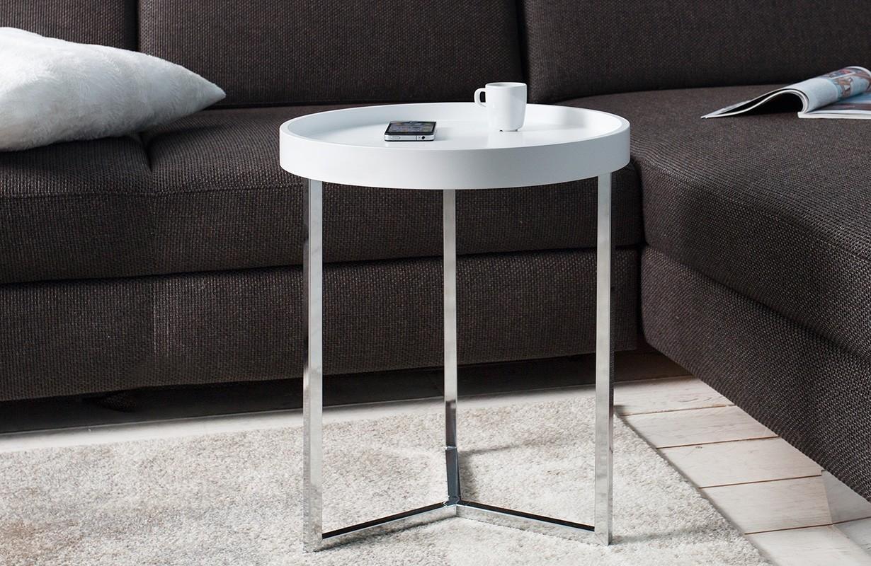 designer couchtisch rond white bei nativo m bel schweiz. Black Bedroom Furniture Sets. Home Design Ideas