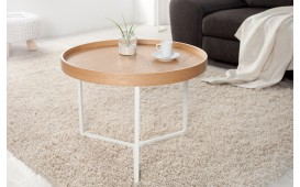 Tavolino di design BIG ROND WOOD