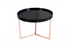 Table basse Design BIG ROND BLACK