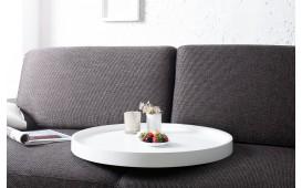 Designer Couchtisch BIG ROND WHITE