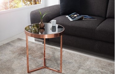 Table d'appoint Design ROND BLACK
