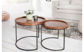 Table d'appoint Design DARKAZ Set 2