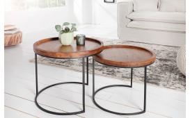 Tavolino d'appoggio di design DARKAZ Set 2