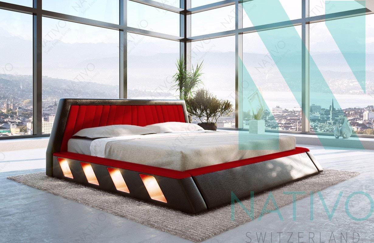 designer bett mit led beleuchtung. Black Bedroom Furniture Sets. Home Design Ideas