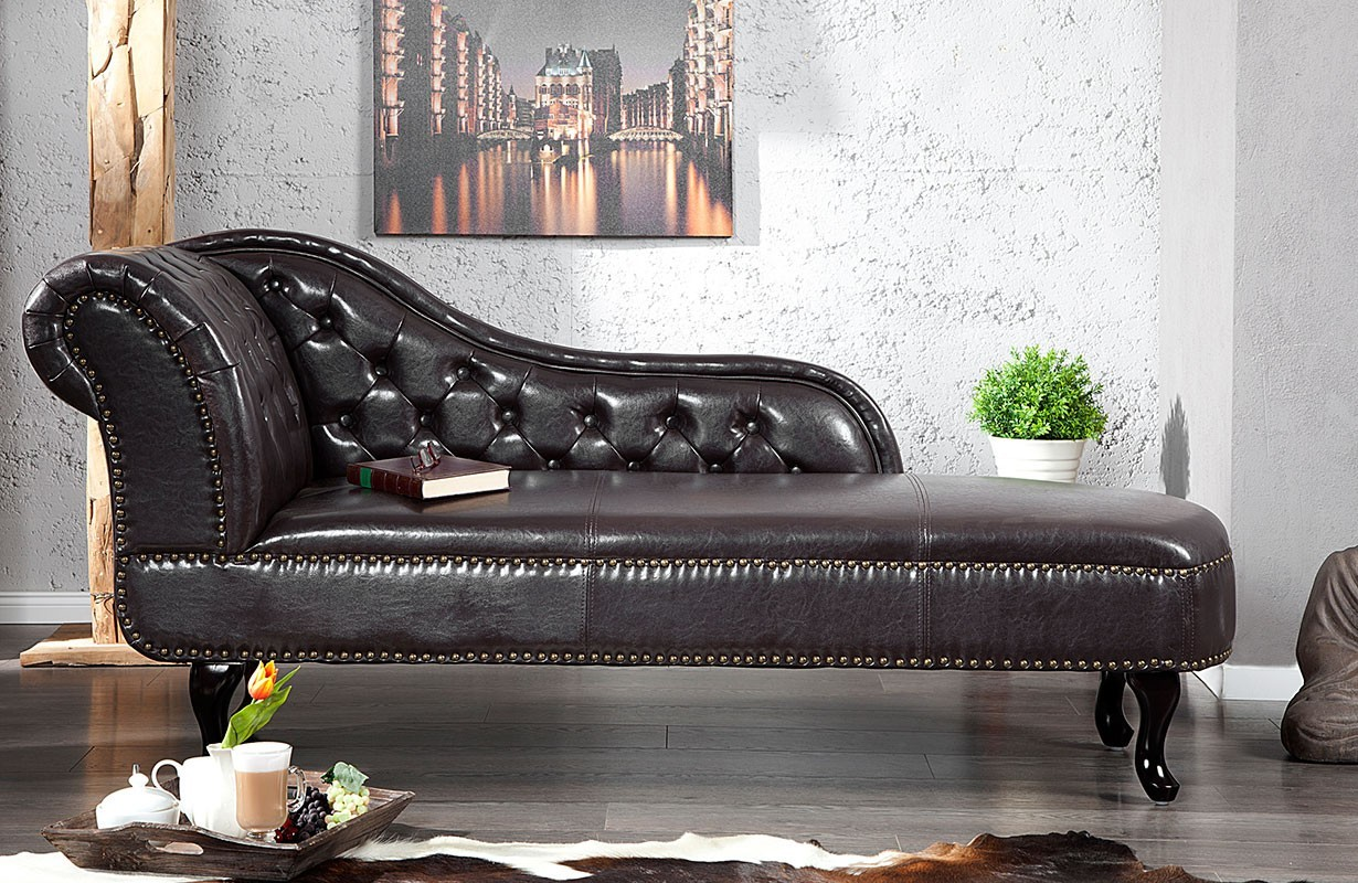 recamier chesterfield dark coffee bei nativo m bel schweiz g nstig kaufen. Black Bedroom Furniture Sets. Home Design Ideas