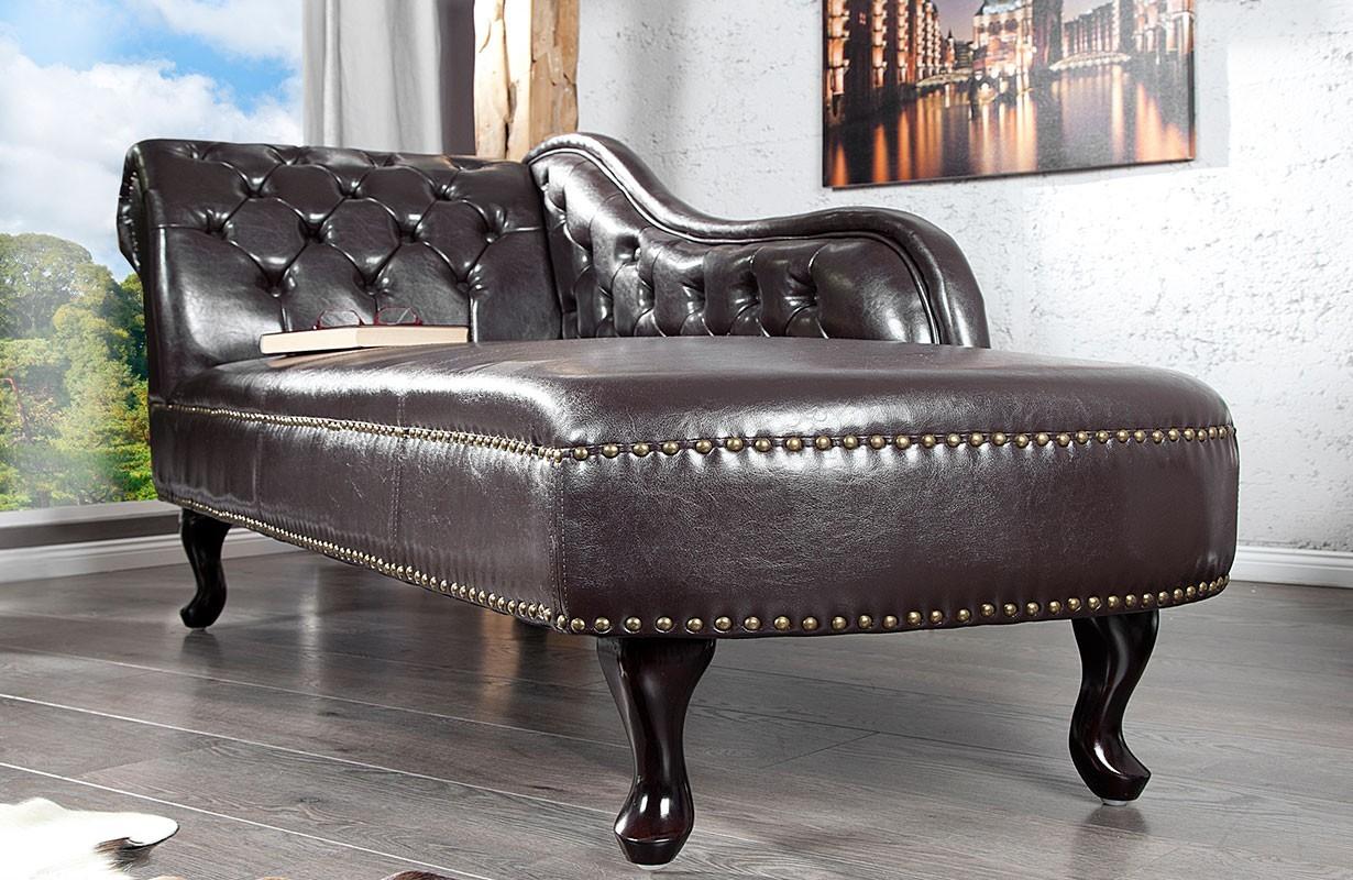 recamier chesterfield dark coffee bei nativo m bel schweiz g nstig kaufen. Black Bedroom Furniture Sets. Home Design Ideas