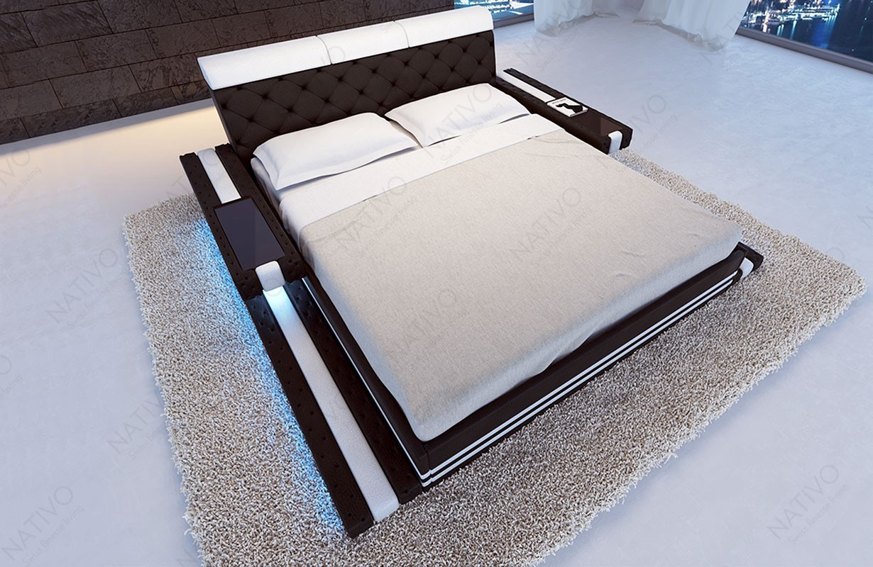 Lederbett Bett Imperial Bei Nativo M 246 Bel Schweiz G 252 Nstig