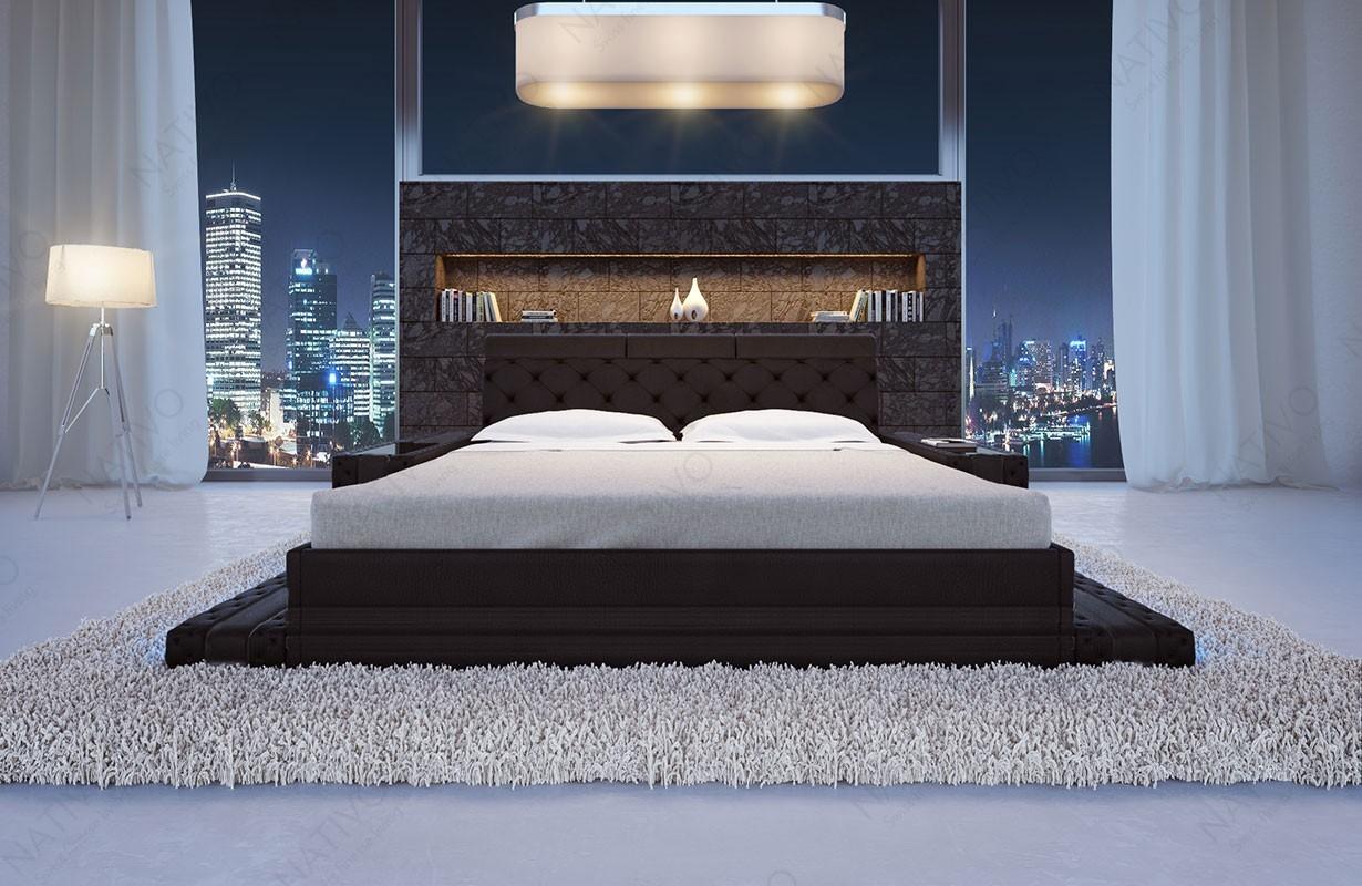 Lederbett Bett IMPERIAL bei NATIVO Möbel Schweiz günstig