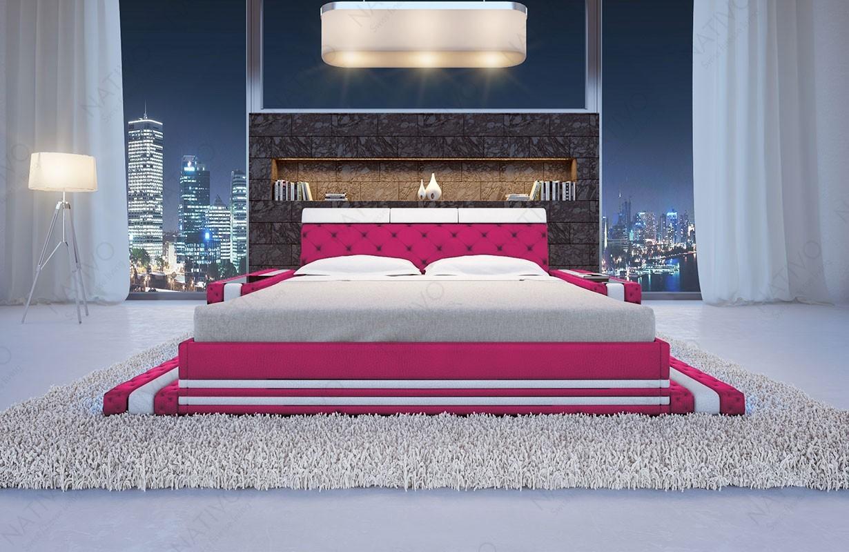 lit design imperial avec clairage led nativo design. Black Bedroom Furniture Sets. Home Design Ideas