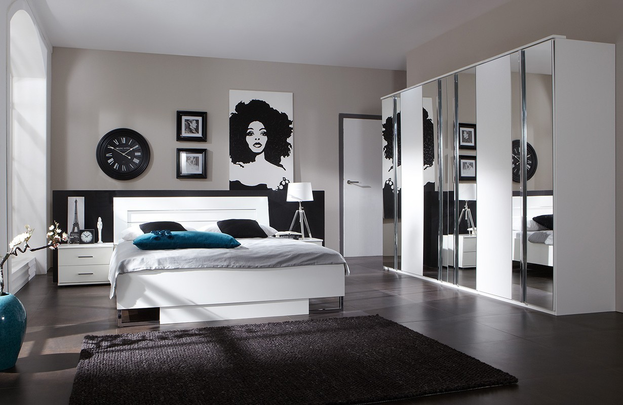 Camera da letto lugano david v1 nativo arredamento moderno - Camera da letto completa ...
