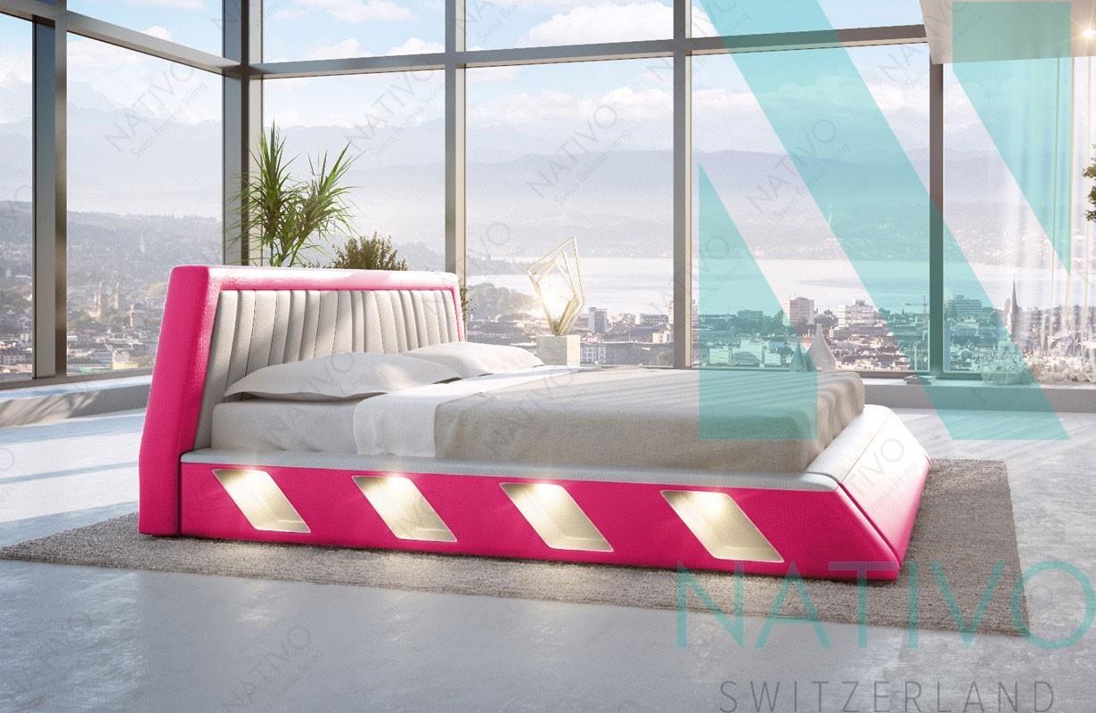 Designer bett led  Designer Bett LENOX bei NATIVO Möbel Schweiz günstig kaufen