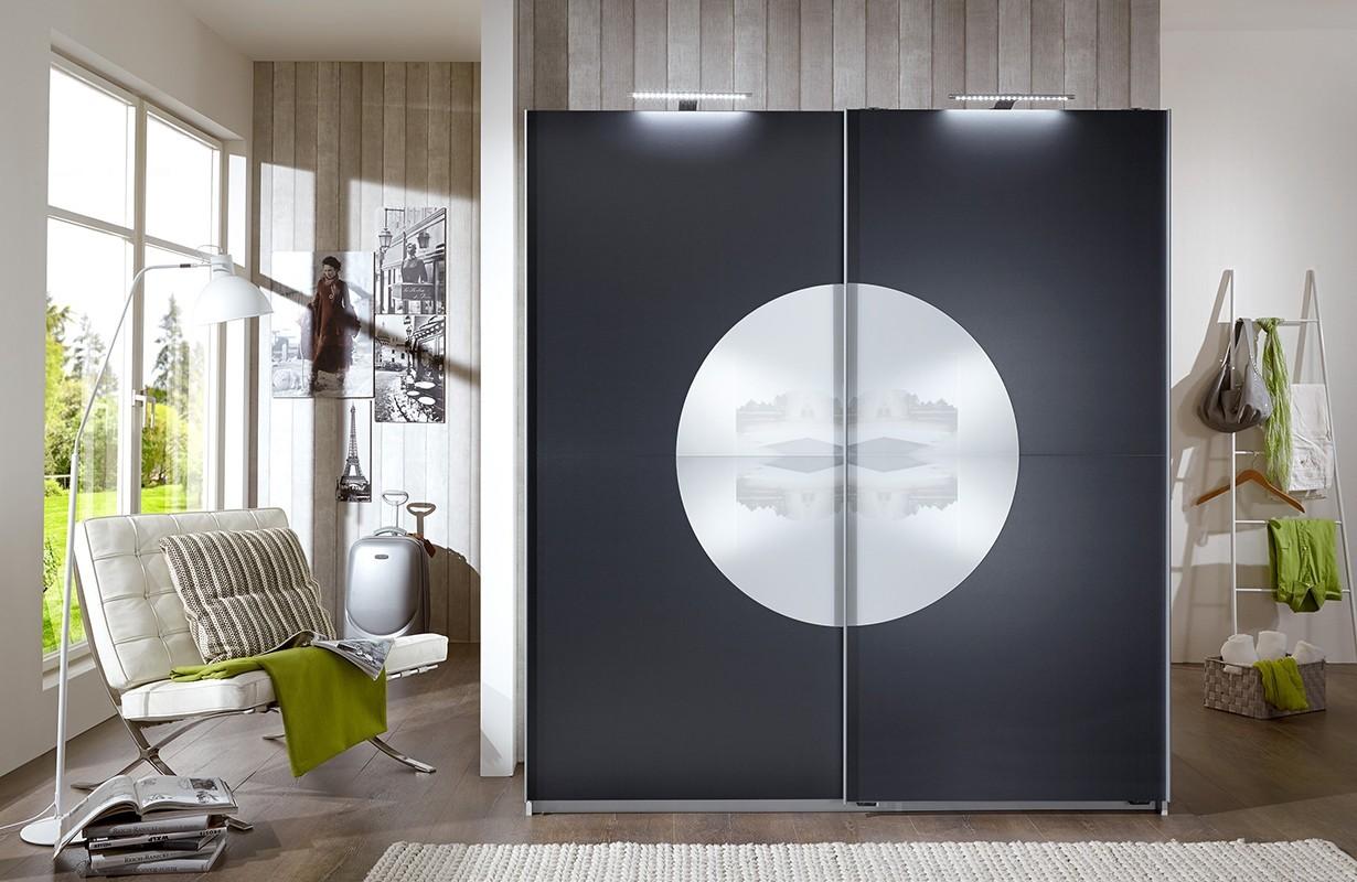 Kleiderschrank mit Schiebetüren TARGET von NATIVO Möbel Schweiz
