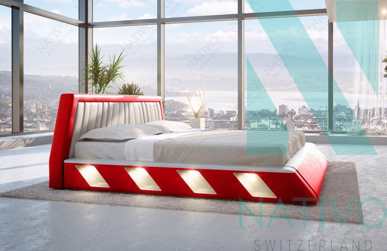 Bett Led Beleuchtung. Excellent Bett Mit Led Beleuchtung Best Bett ...