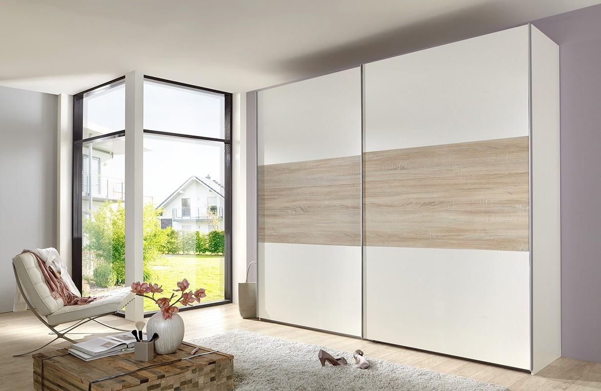 kleiderschrank mit schiebet ren combo b von nativo m bel schweiz. Black Bedroom Furniture Sets. Home Design Ideas