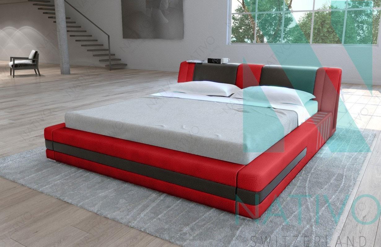mobilier moderne nativo lit venum avec clairage led. Black Bedroom Furniture Sets. Home Design Ideas