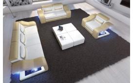 Canapé Design MIRAGE 3+2+1 avec éclairage LED