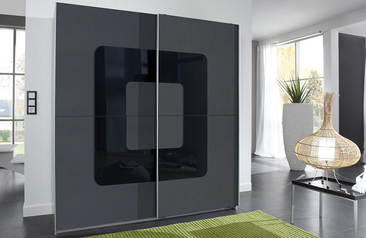 kleiderschrank mit schiebet ren cube v2 von nativo m bel schweiz. Black Bedroom Furniture Sets. Home Design Ideas