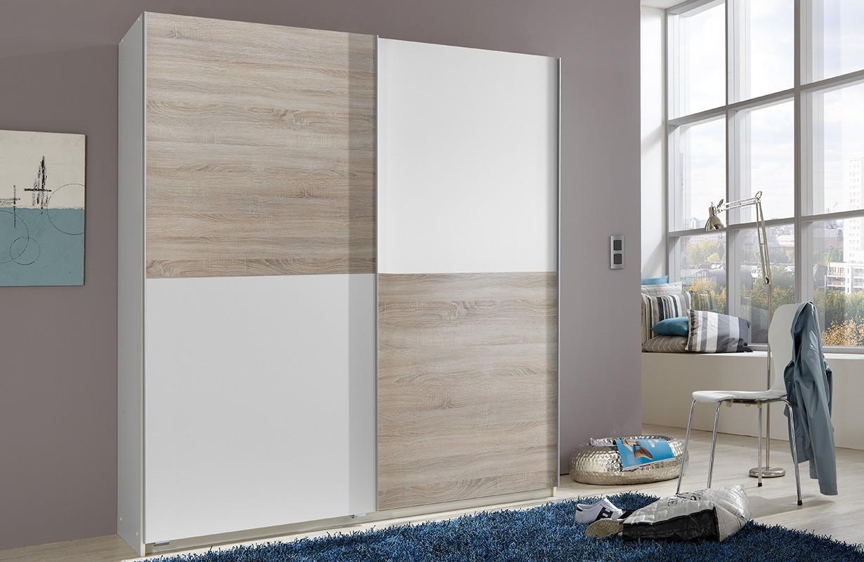 kleiderschrank mit schiebet ren luxo v3 von nativo m bel schweiz. Black Bedroom Furniture Sets. Home Design Ideas