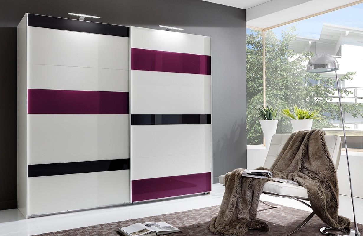 Kleiderschrank mit Schiebetüren DE STIJL v3 von NATIVO Möbel Schweiz